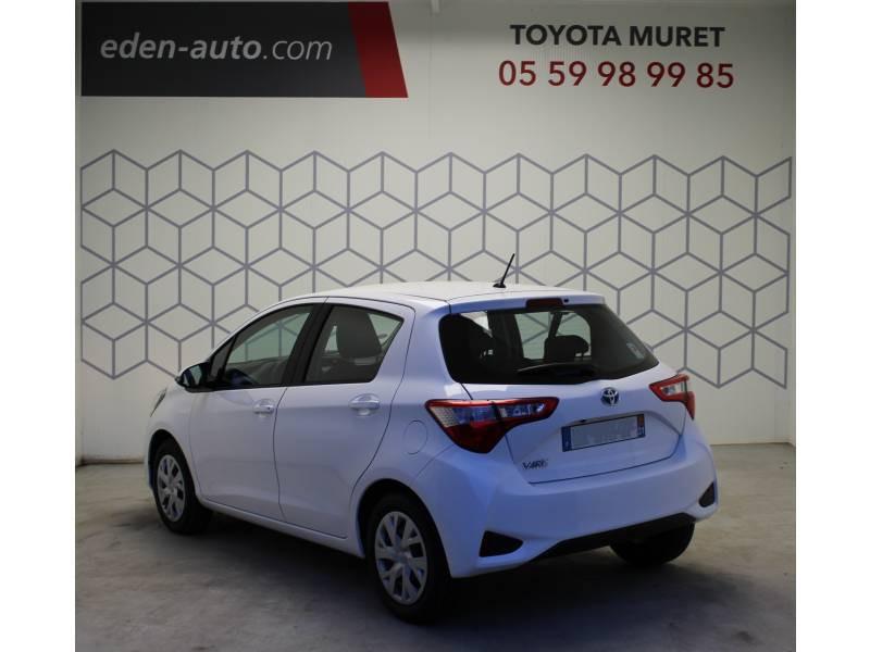 Toyota Yaris PRO MY19 110 VVT-i France Business Blanc occasion à Muret - photo n°2