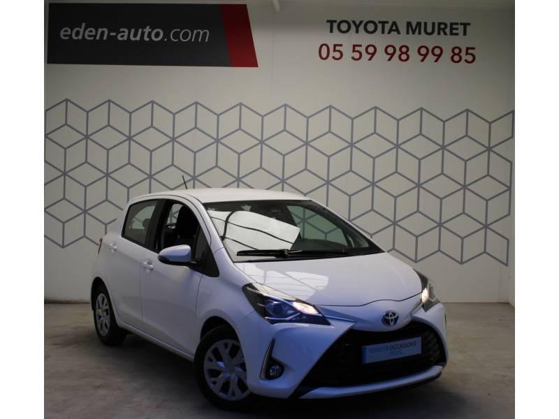 Toyota Yaris PRO MY19 110 VVT-i France Business Blanc occasion à Muret