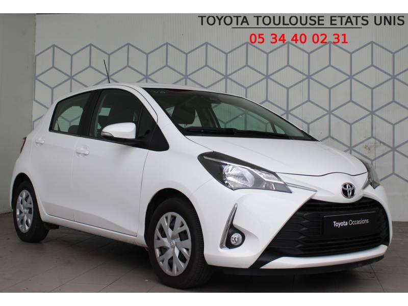 Toyota Yaris PRO MY19 70 VVT-i France Business Blanc occasion à Toulouse
