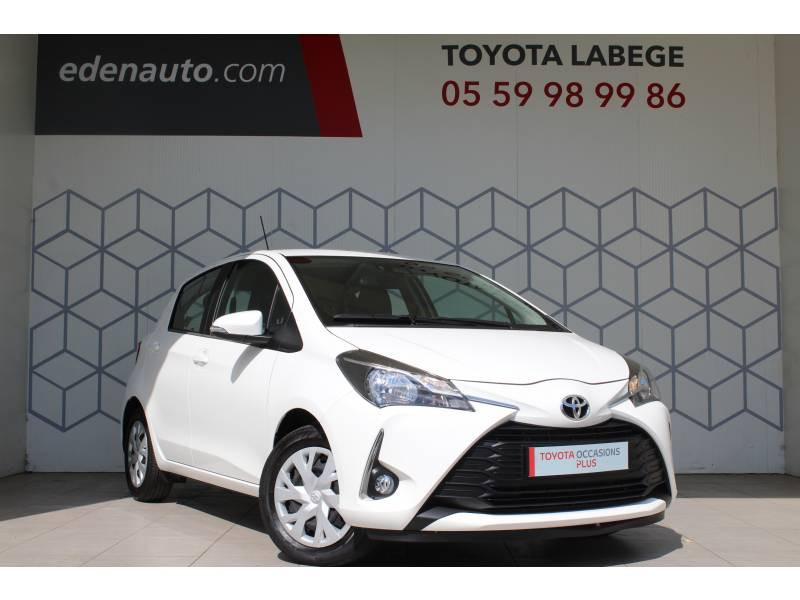 Toyota Yaris PRO RC19 110 VVT-i France Business Blanc occasion à Toulouse
