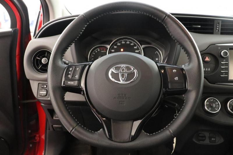 Toyota Yaris RC18 70 VVT-i Active Rouge occasion à Vélizy-Villacoublay - photo n°10