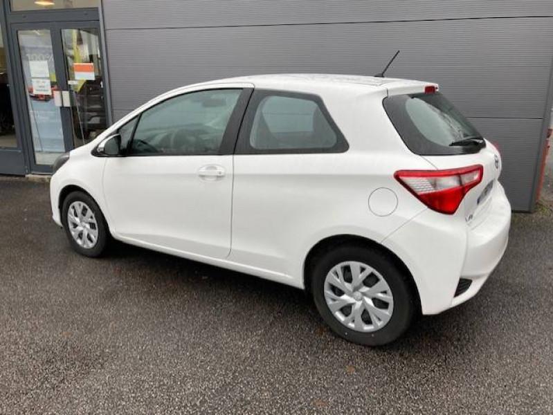 Toyota Yaris Yaris 70 VVT-i France 3p Blanc occasion à Tulle - photo n°2