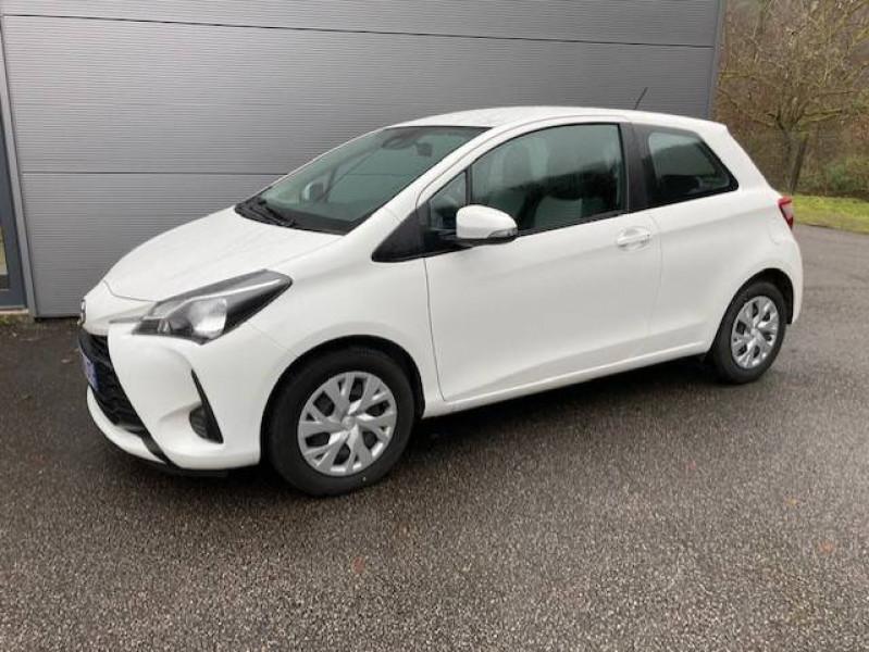 Toyota Yaris Yaris 70 VVT-i France 3p Blanc occasion à Tulle