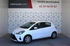 Toyota Yaris Yaris 70 VVT-i France Connect 5p Blanc à Montauban 82