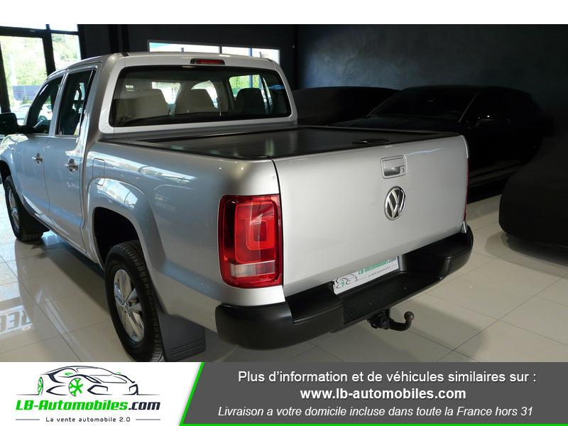 Volkswagen Amarok 2.0 TDI 180 4WD AUTO TRENDLINE Gris occasion à Beaupuy - photo n°14