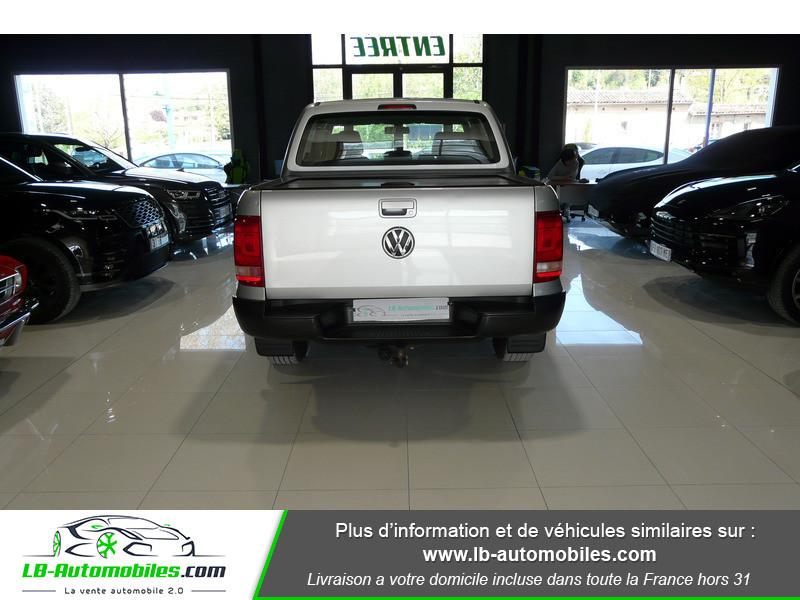 Volkswagen Amarok 2.0 TDI 180 4WD AUTO TRENDLINE Gris occasion à Beaupuy - photo n°13