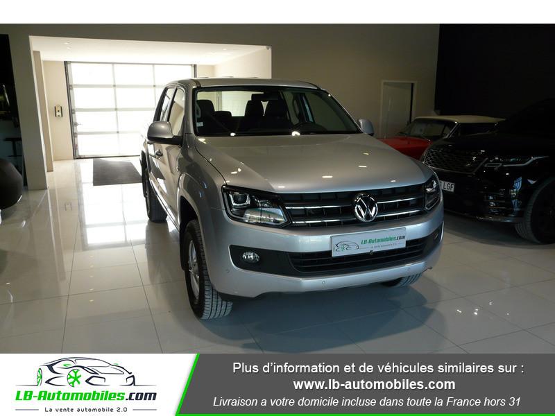 Volkswagen Amarok 2.0 TDI 180 4WD AUTO TRENDLINE Gris occasion à Beaupuy - photo n°12
