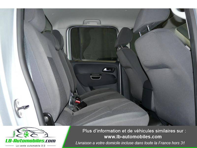 Volkswagen Amarok 2.0 TDI 180 4WD AUTO TRENDLINE Gris occasion à Beaupuy - photo n°6