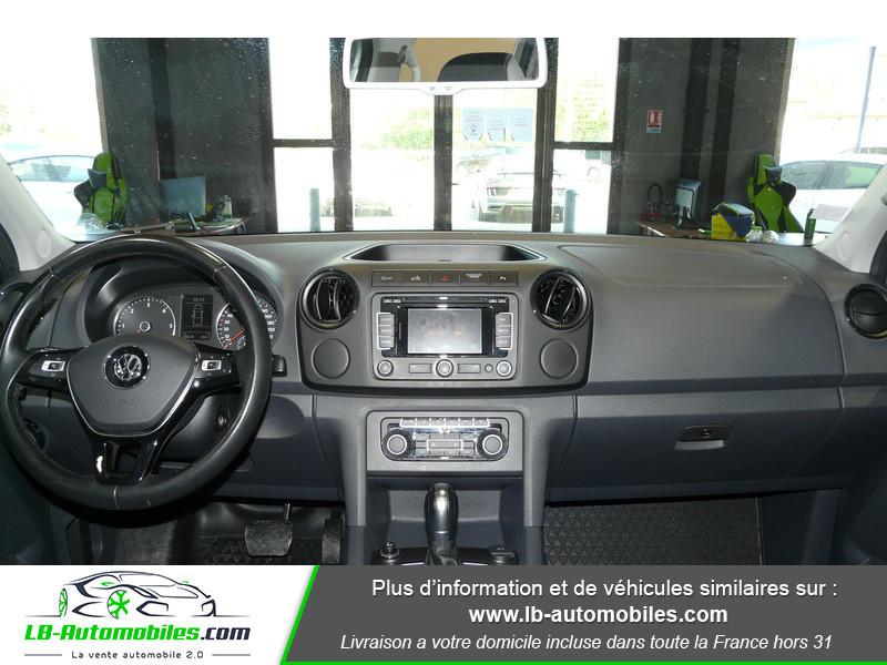 Volkswagen Amarok 2.0 TDI 180 4WD AUTO TRENDLINE Gris occasion à Beaupuy - photo n°2