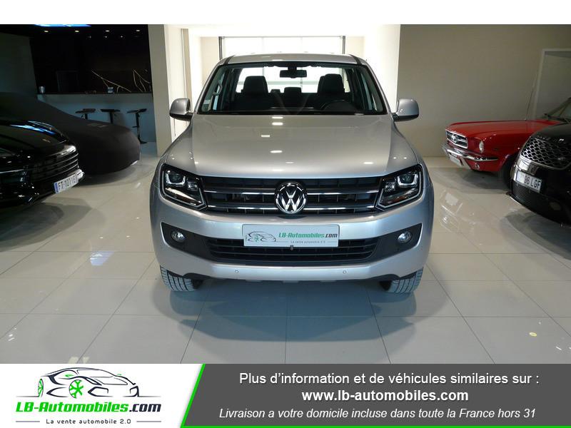 Volkswagen Amarok 2.0 TDI 180 4WD AUTO TRENDLINE Gris occasion à Beaupuy - photo n°11