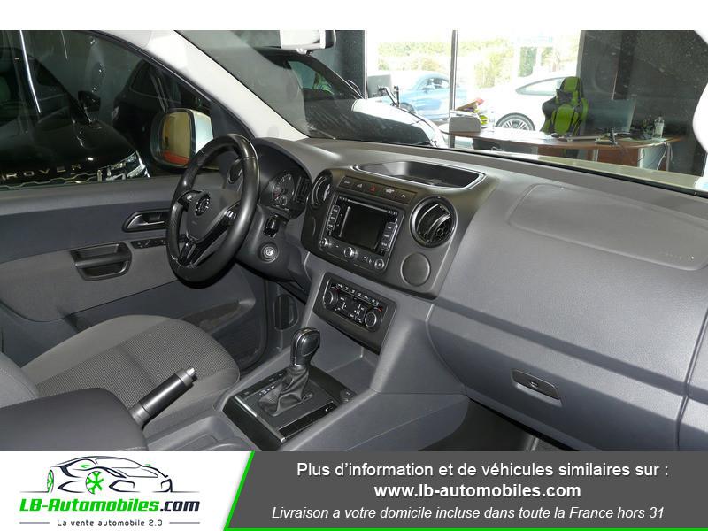 Volkswagen Amarok 2.0 TDI 180 4WD AUTO TRENDLINE Gris occasion à Beaupuy - photo n°8