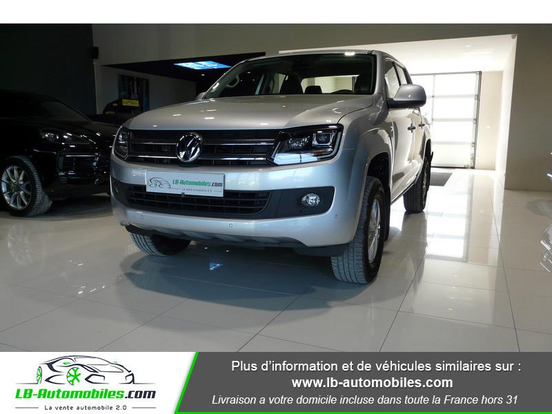 Volkswagen Amarok 2.0 TDI 180 4WD AUTO TRENDLINE Gris occasion à Beaupuy