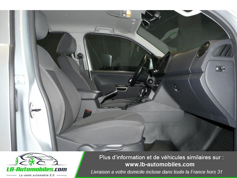 Volkswagen Amarok 2.0 TDI 180 4WD AUTO TRENDLINE Gris occasion à Beaupuy - photo n°7