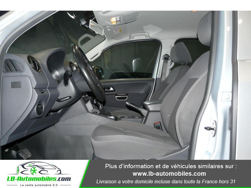 Volkswagen Amarok 2.0 TDI 180 4WD AUTO TRENDLINE Gris occasion à Beaupuy - photo n°4