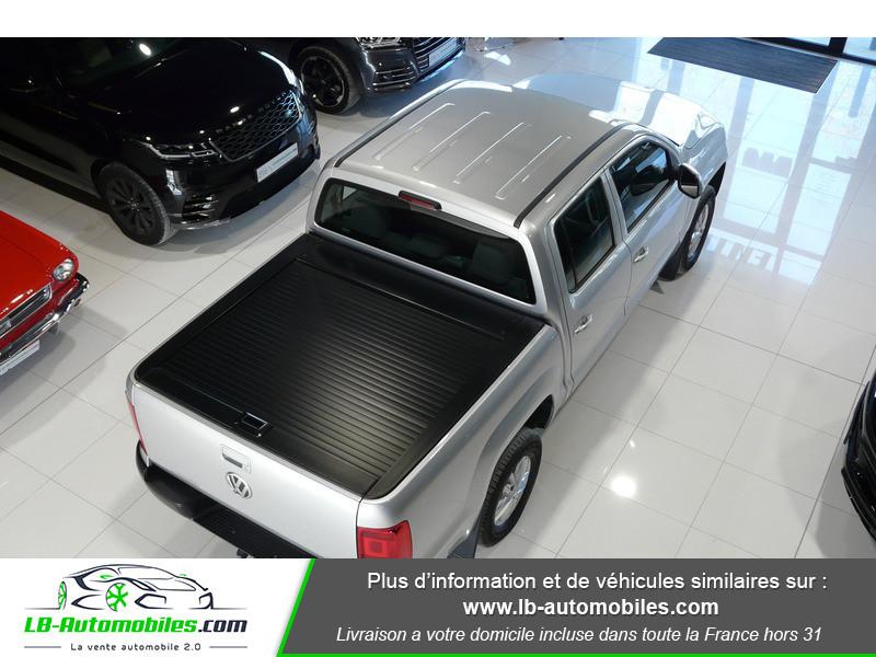 Volkswagen Amarok 2.0 TDI 180 4WD AUTO TRENDLINE Gris occasion à Beaupuy - photo n°16