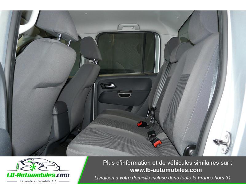 Volkswagen Amarok 2.0 TDI 180 4WD AUTO TRENDLINE Gris occasion à Beaupuy - photo n°5