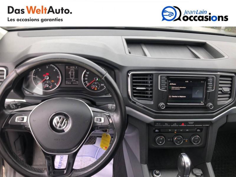 Volkswagen Amarok AMAROK DC 3.0 TDI 224 4MOTION 4X4 PERMANENT BVA8 CARAT 4p Gris occasion à La Motte-Servolex - photo n°18