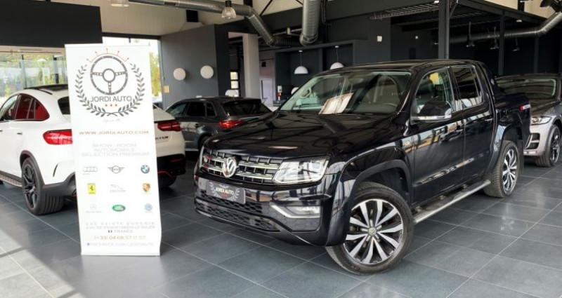 Volkswagen Amarok DOUBLE CABINE 3.0 TDI 224 4MOTION 4X4 PERMANENT BVA8 AVENTUR Noir occasion à LE SOLER