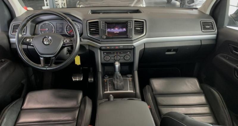 Volkswagen Amarok DOUBLE CABINE 3.0 TDI 224 4MOTION 4X4 PERMANENT BVA8 AVENTUR Noir occasion à LE SOLER - photo n°6