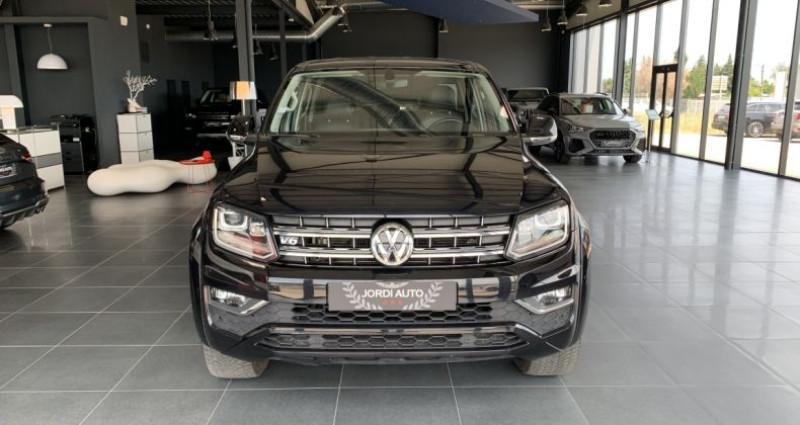 Volkswagen Amarok DOUBLE CABINE 3.0 TDI 224 4MOTION 4X4 PERMANENT BVA8 AVENTUR Noir occasion à LE SOLER - photo n°4