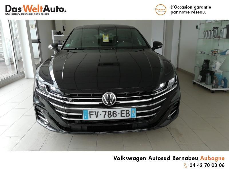 Volkswagen Arteon 2.0 TDI 150ch R-line Exclusive DSG7 Noir occasion à Aubagne - photo n°5