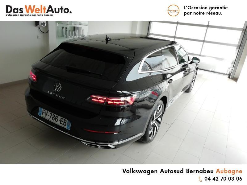 Volkswagen Arteon 2.0 TDI 150ch R-line Exclusive DSG7 Noir occasion à Aubagne - photo n°4