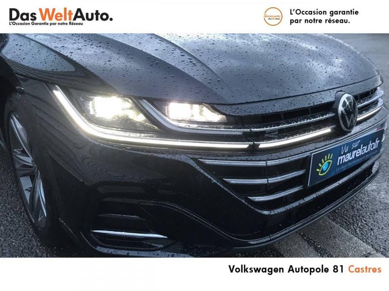 Volkswagen Arteon Arteon 2.0 TDI EVO SCR 150 DSG7 R-Line 5p Noir occasion à Castres - photo n°8