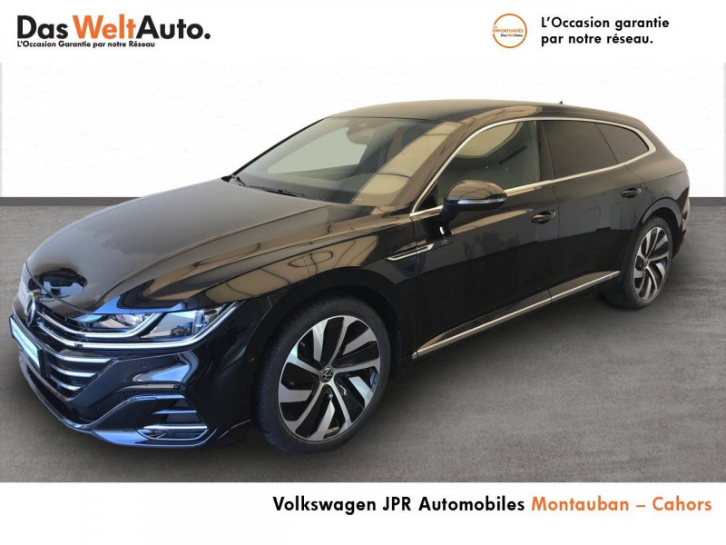 Volkswagen Arteon Arteon 2.0 TDI EVO SCR 150 DSG7 R-Line 5p Noir occasion à Cahors
