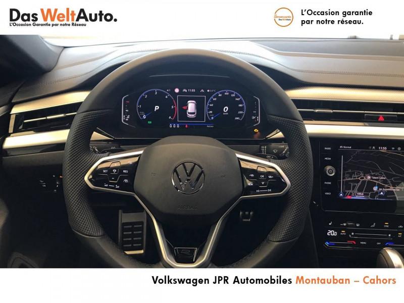 Volkswagen Arteon Arteon 2.0 TDI EVO SCR 150 DSG7 R-Line 5p Noir occasion à Cahors - photo n°9