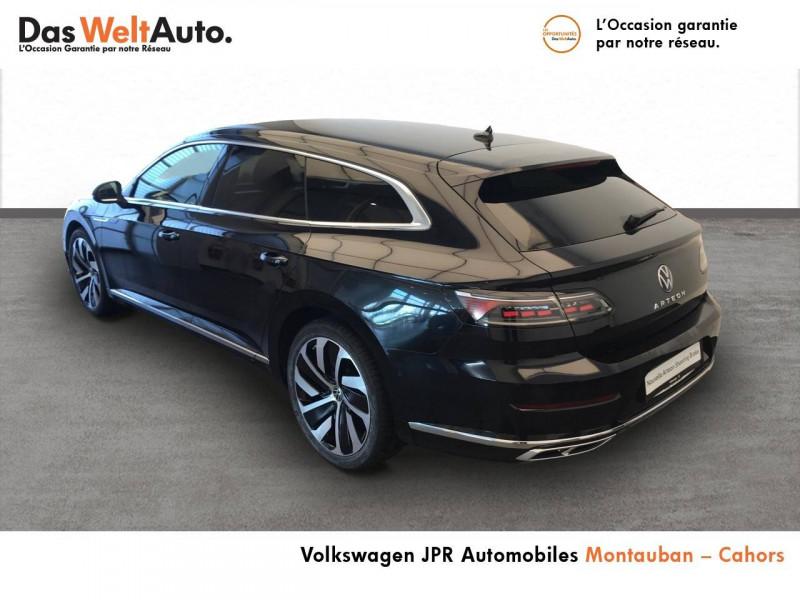 Volkswagen Arteon Arteon 2.0 TDI EVO SCR 150 DSG7 R-Line 5p Noir occasion à Cahors - photo n°3