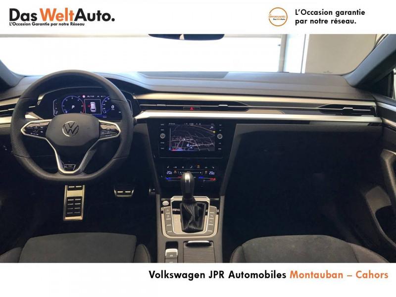 Volkswagen Arteon Arteon 2.0 TDI EVO SCR 150 DSG7 R-Line 5p Noir occasion à montauban - photo n°4