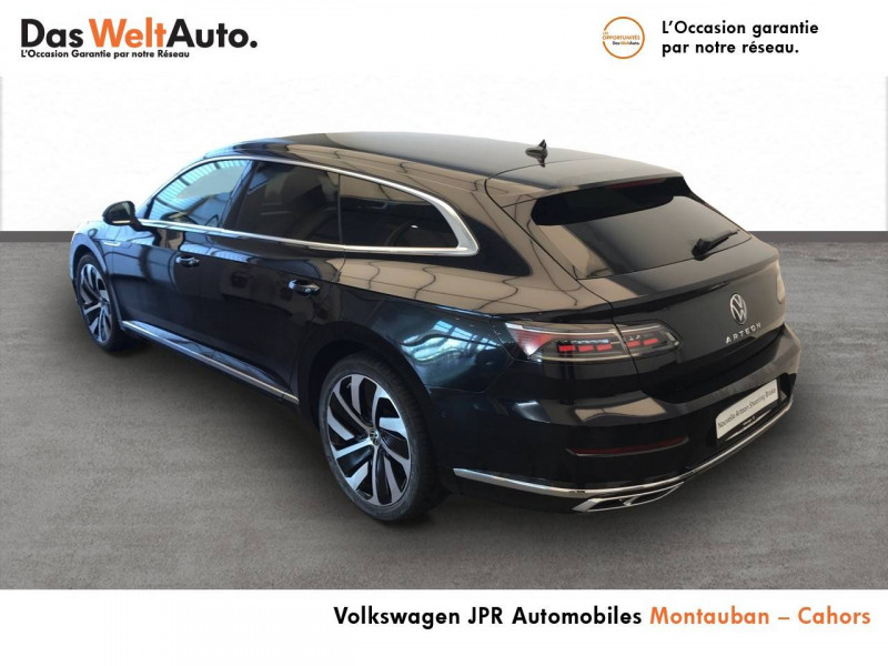 Volkswagen Arteon Arteon 2.0 TDI EVO SCR 150 DSG7 R-Line 5p Noir occasion à montauban - photo n°3