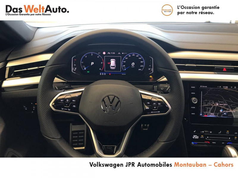 Volkswagen Arteon Arteon 2.0 TDI EVO SCR 150 DSG7 R-Line 5p Noir occasion à montauban - photo n°9