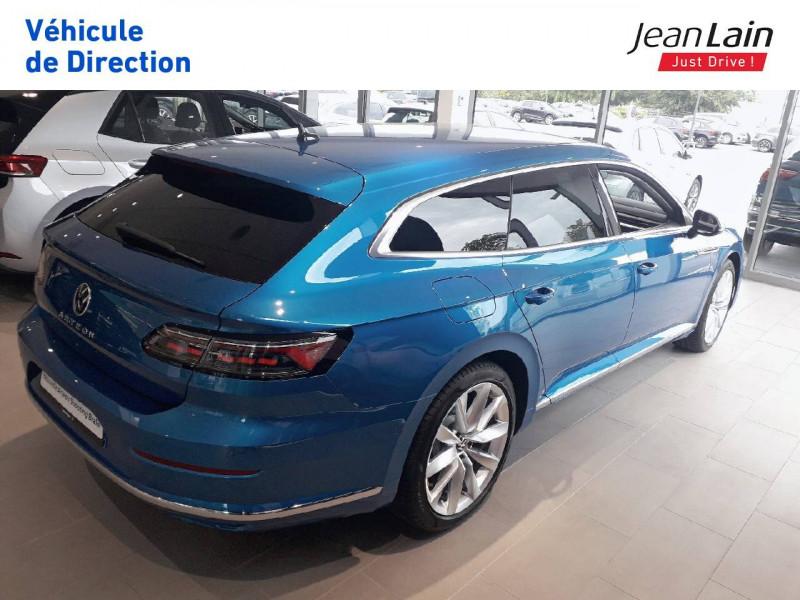 Volkswagen Arteon Arteon Shooting Brake 2.0 TDI EVO SCR 150 DSG7 Elegance 5p Bleu occasion à Seynod - photo n°5