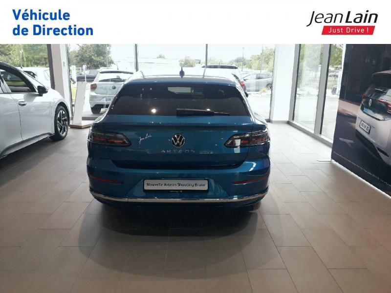 Volkswagen Arteon Arteon Shooting Brake 2.0 TDI EVO SCR 150 DSG7 Elegance 5p Bleu occasion à Seynod - photo n°6