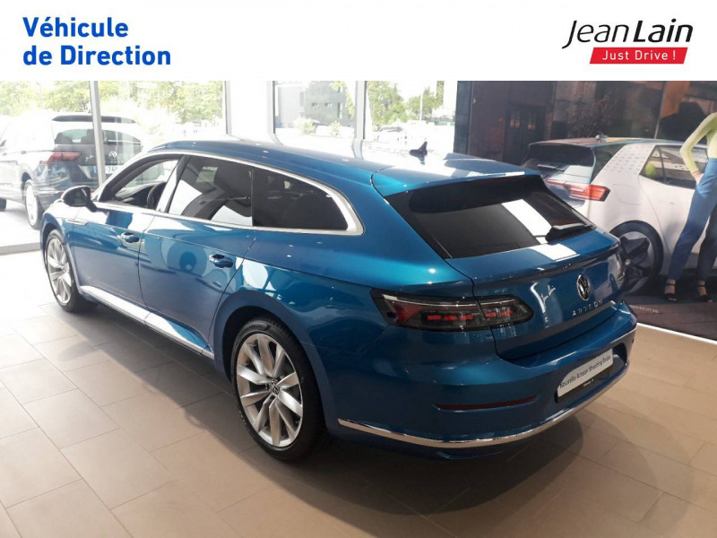 Volkswagen Arteon Arteon Shooting Brake 2.0 TDI EVO SCR 150 DSG7 Elegance 5p Bleu occasion à Seynod - photo n°7