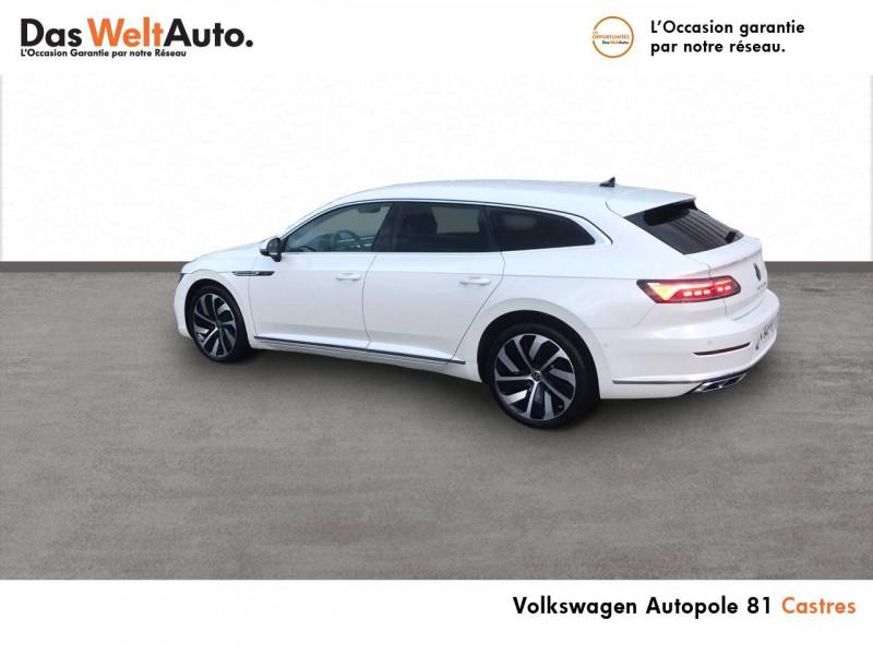 Volkswagen Arteon Arteon Shooting Brake 2.0 TDI EVO SCR 150 DSG7 R-Line 5p Blanc occasion à Castres - photo n°4