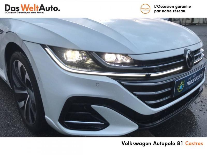 Volkswagen Arteon Arteon Shooting Brake 2.0 TDI EVO SCR 150 DSG7 R-Line 5p Blanc occasion à Castres - photo n°8