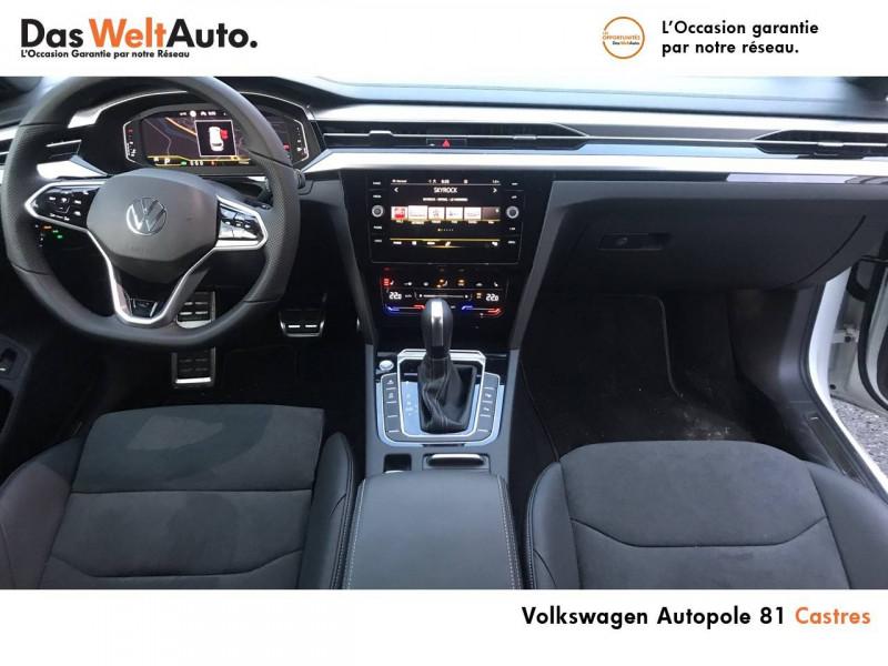Volkswagen Arteon Arteon Shooting Brake 2.0 TDI EVO SCR 150 DSG7 R-Line 5p Blanc occasion à Castres - photo n°5