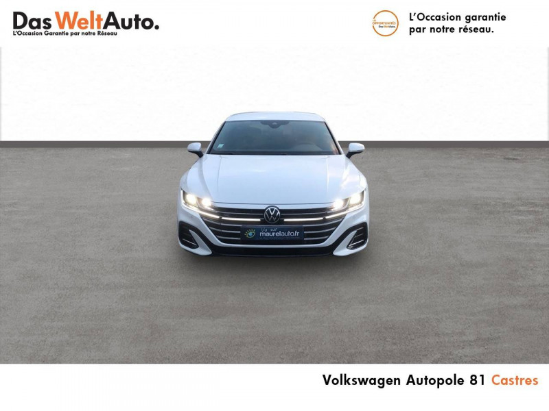 Volkswagen Arteon Arteon Shooting Brake 2.0 TDI EVO SCR 150 DSG7 R-Line 5p Blanc occasion à Castres - photo n°2