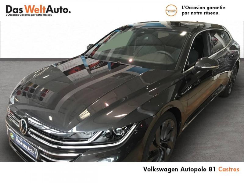 Volkswagen Arteon Arteon Shooting Brake 2.0 TDI EVO SCR 150 DSG7 R-Line 5p Gris occasion à Castres