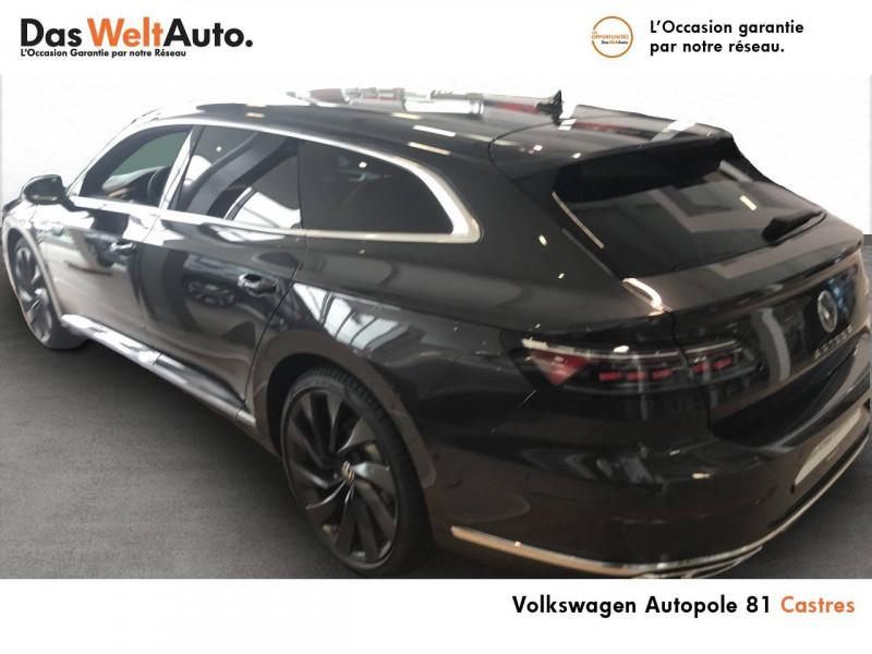 Volkswagen Arteon Arteon Shooting Brake 2.0 TDI EVO SCR 150 DSG7 R-Line 5p Gris occasion à Castres - photo n°4