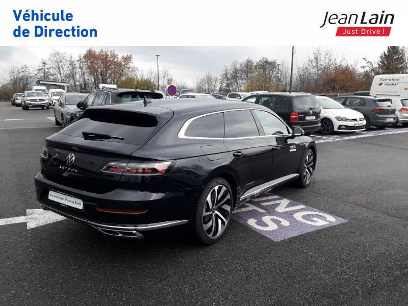 Volkswagen Arteon Arteon Shooting Brake 2.0 TDI EVO SCR 150 DSG7 R-Line 5p Noir occasion à Seynod - photo n°5