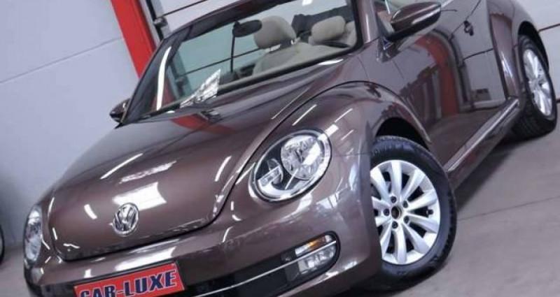 Volkswagen Beetle 1.6 TDI 1O5CV DESIGN GPS CUIR CLIM COUPE VENT Marron occasion à Sombreffe