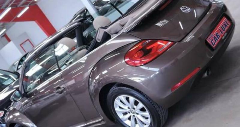 Volkswagen Beetle 1.6 TDI 1O5CV DESIGN GPS CUIR CLIM COUPE VENT Marron occasion à Sombreffe - photo n°2