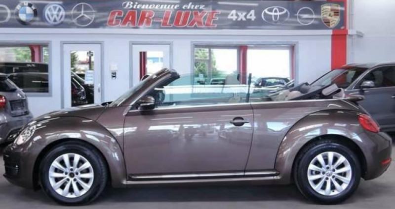Volkswagen Beetle 1.6 TDI 1O5CV DESIGN GPS CUIR CLIM COUPE VENT Marron occasion à Sombreffe - photo n°5