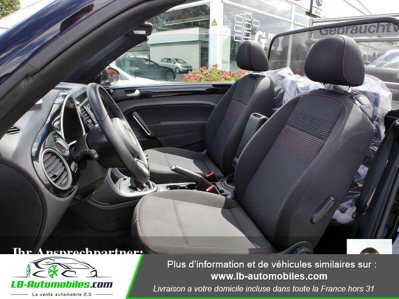 Volkswagen Beetle Cabriolet 1.2 TSI Noir occasion à Beaupuy - photo n°6