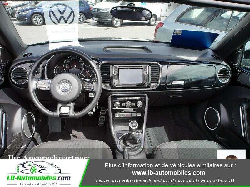 Volkswagen Beetle Cabriolet 1.2 TSI Noir occasion à Beaupuy - photo n°2