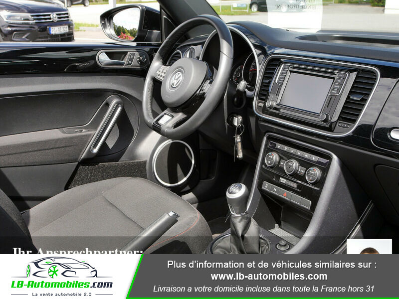 Volkswagen Beetle Cabriolet 1.2 TSI Noir occasion à Beaupuy - photo n°7