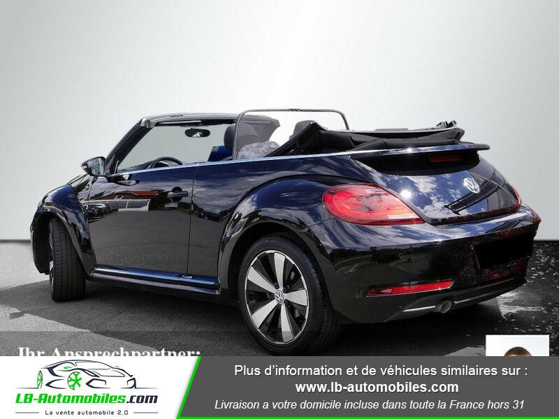 Volkswagen Beetle Cabriolet 1.2 TSI Noir occasion à Beaupuy - photo n°3